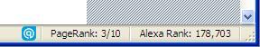 COJ Page-Alexa rank
